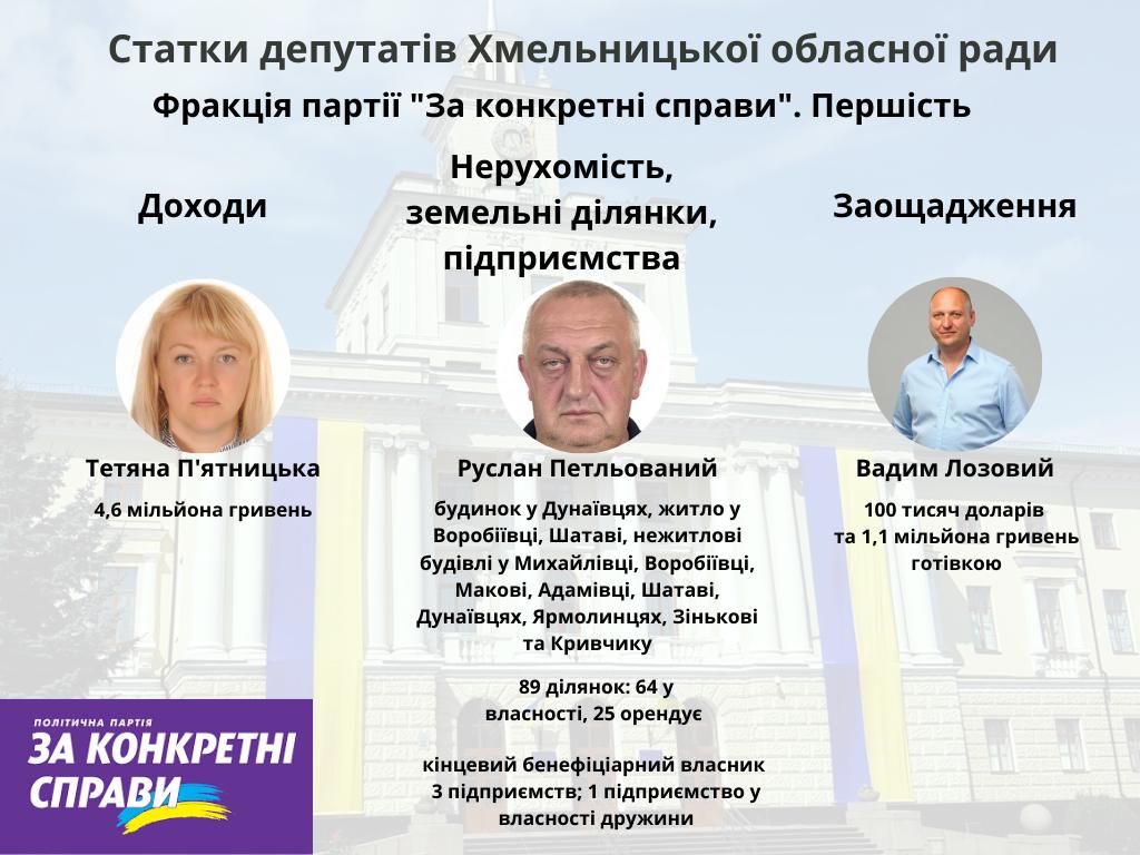 Хто більше: які статки задекларували депутати Хмельницької обласної ради?, фото-6