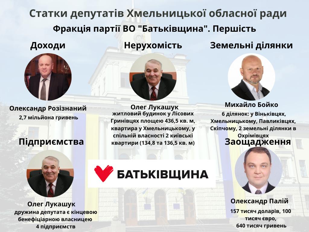 Хто більше: які статки задекларували депутати Хмельницької обласної ради?, фото-2